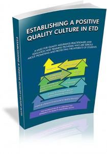 Establishing a Positive Quality Culture in ETD WEB